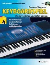 Der neue Weg zum Keyboardspiel, m. Audio-CD. Bd.4