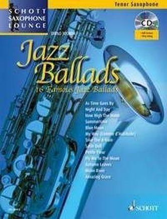 Jazz Ballads, für Tenor-Saxophon, m. Audio-CD, Einzelstimme u. Klaviersatz - Juchem, Dirko