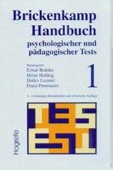 Brickenkamp Handbuch psychologischer und pädagogischer Tests. Bd.1