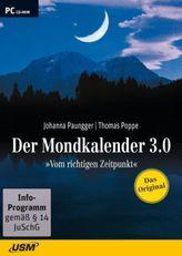 Der Mondkalender 3.0, 1 CD-ROM