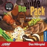 Das wilde Pack in geheimer Mission, 1 Audio-CD