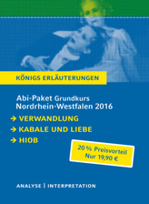 Abitur Nordrhein-Westfalen 2016 Grundkurs Königs Erläuterungen Paket, 3 Bde.