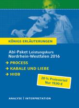 Abitur Nordrhein-Westfalen 2016 Leistungskurs Königs Erläuterungen Paket, 3 Bde.