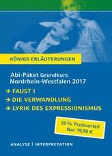 Abi-Paket Grundkurs Nordrhein-Westfalen 2017 - Königs Erläuterungen, 3 Tle.