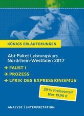 Abi-Paket Leistungskurs Nordrhein-Westfalen 2017 - Königs Erläuterungen., 3 Tle.