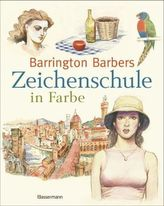 Barrington Barbers Zeichenschule in Farbe