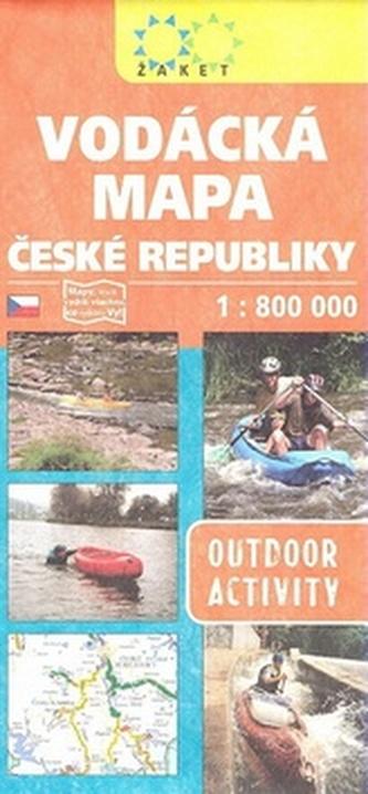 Vodácká mapa České republiky