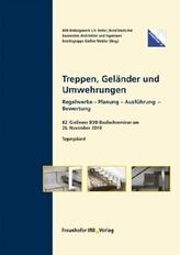 Treppen, Geländer und Umwehrungen