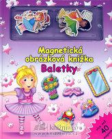 Baletky - Magnetická obrázková knížka