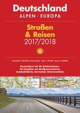 Shell Straßen & Reisen 2017/18 Deutschland 1:300.000, Alpen, Europa