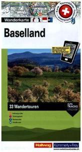 Hallwag Wanderkarte Baselland