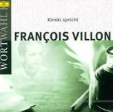 Kinski spricht Francois Villon, 1 Audio-CD