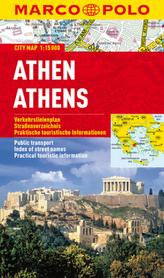 Marco Polo Citymap Athen. Athens