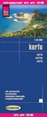 World Mapping Project Korfu. Corfu. Corfou; Corfú