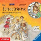 Die Zeitdetektive - Die Brandstifter von Rom, 1 Audio-CD