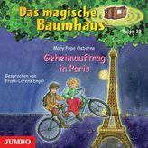 Geheimauftrag in Paris, Audio-CD