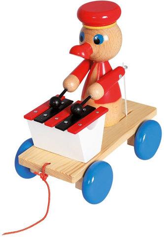 Tahací kačer s xylofonem