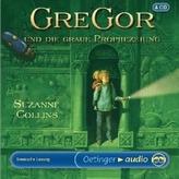 Gregor und die graue Prophezeiung, 4 Audio-CDs