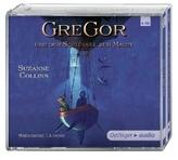 Gregor und der Schlüssel zur Macht, 4 Audio-CDs