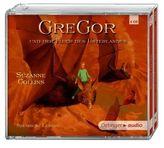 Gregor und der Fluch des Unterlandes, 4 Audio-CDs