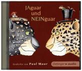 Jaguar und Neinguar - Gedichte von Paul Maar, 1 Audio-CD