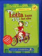 Lotta kann fast alles / Na klar, Lotta kann Rad fahren, 1 DVD