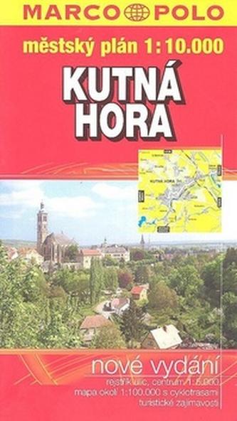 Kutná Hora plán GCS 1:10 000