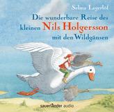 Die wunderbare Reise des kleinen Nils Holgersson mit den Wildgänsen, 2 Audio-CDs