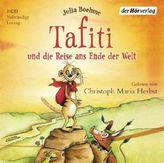 Tafiti und die Reise ans Ende der Welt, 1 Audio-CD. Bd.1