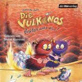 Die Vulkanos brüten was aus!, 1 Audio-CD