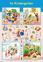 Mein Lernposter: Im Kindergarten