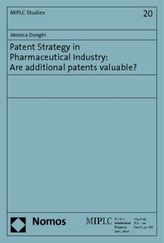 Patent Strategy in Pharmaceutical Industry: Are additional patents valuable?