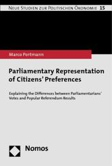 Parliamentary Representation of Citizens Preferences