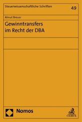 Gewinntransfers im Recht der DBA