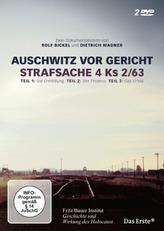 Auschwitz vor Gericht / Strafsache 4 Ks 2/63, 2 DVDs