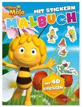 Die Biene Maja- Malbuch mit Stickern