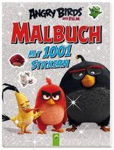 Angy Birds - Malbuch mit 1001 Stickern