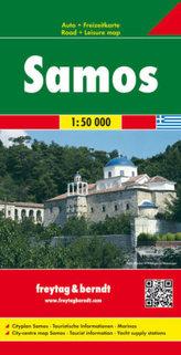 Freytag & Berndt Autokarte Samos 1 : 50.000. Samo