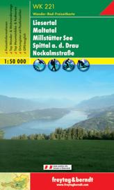 Freytag & Berndt Wander-, Rad- und Freizeitkarte Liesertal, Maltatal, Millstätter See, Spittal a. d. Drau, Nockalmstraße
