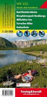 Freytag & Berndt Wander-, Rad- und Freizeitkarte Bad Kleinkirchheim, Nationalpark Nockberge, Millstätter See, Turracher Höhe, Ra