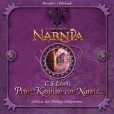 Die Chroniken von Narnia - Prinz Kaspian von Narnia, 4 Audio-CDs