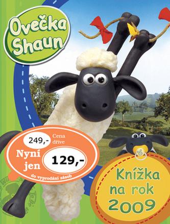 Ovečka Shaun Knížka na rok 2009