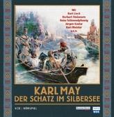 Der Schatz im Silbersee, 4 Audio-CDs