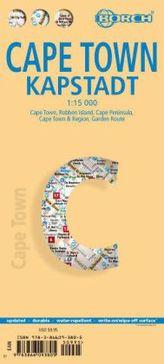 Borch Map Kapstadt. Cape Town