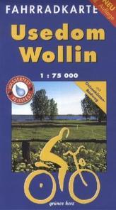 Fahrradkarte Usedom, Wollin