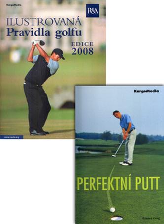 Balíček 2ks Ilustrovaná pravidla golfu 2008 - 2011 + Perfektní putt