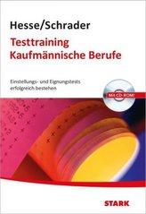 Testtraining Kaufmännische Berufe, m. CD-ROM