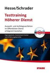 Testtraining Höherer Dienst, m. CD-ROM