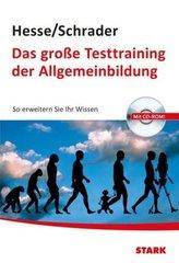 Das große Testtraining der Allgemeinbildung, m. CD-ROM