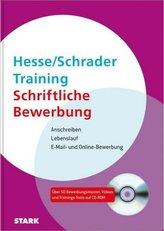 Training Schriftliche Bewerbung, m. CD-ROM